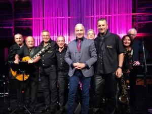 soiree gala le brouzband avec Michel Fugain aux profits des restos du coeur